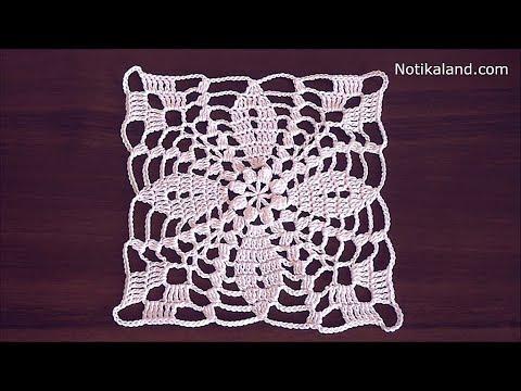 Crochet Flower Motif Tutorial Crochet Lace Motif Patterns Free YouTube Cool Crochet Motif Patterns