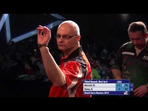 PDC Dutch Darts Masters 2014 - Quarter Final - Mickey Mansell vs. Brendan Dolan