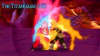 Dragon Ball Z Shin Budokai 2 Mods - Goku Ssj Blue KaiokenX10 Vs Black Goku Ssj2
