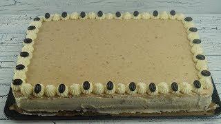 Kahveli Yas Pasta Tarifi (Mokkatorte)