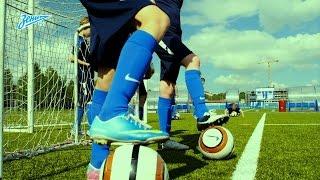 «Академия футбола»: урок №10. Финт «Эластико»