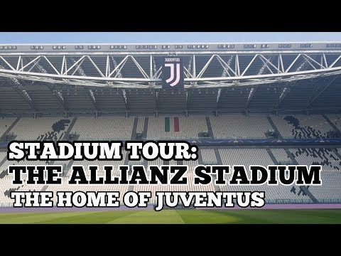STADIUM TOUR: The Allianz Stadium: The Home of Juventus FC: