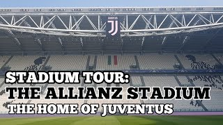 stadium tour the allianz stadium the home of juventus fc pitch side changing rooms media more youtube stadium tour the allianz stadium the home of juventus fc pitch side changing rooms media more