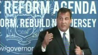 Governor Christie on Pension and Benefits Reform (Part 1)