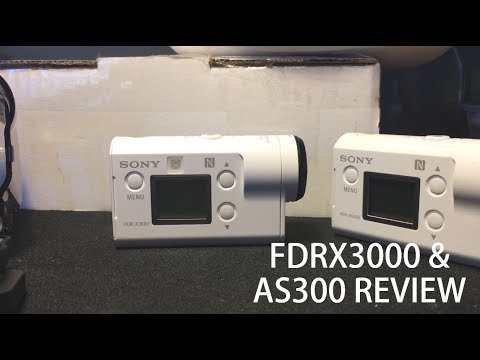 Sony FDR X3000 And AS300 Action Camera | The New GoPro Killers?