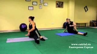 Быстро похудеть   Оксисайз Oxycize видео уроки упражнений онлайн, бесплатно  разминка, скручивание