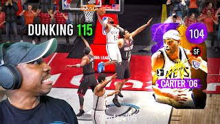 VINCE CARTER with 115 DUNK RATING! NBA Live Mobile 20 Season 4 Pack Opening Gameplay Ep. 60