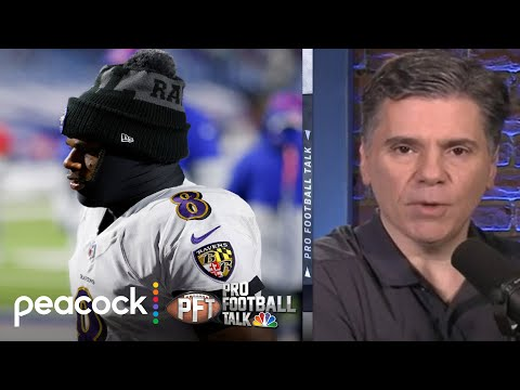 How salary cap shapes Lamar Jackson's contract situation | Pro Football Talk | NBC Sports