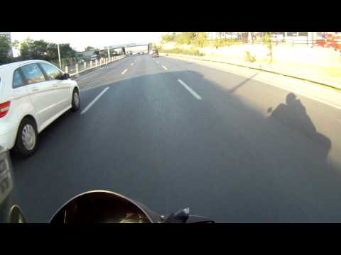 GoPro & Yamaha R6 - Trial Video @Bosphorus Bridge - Istanbul