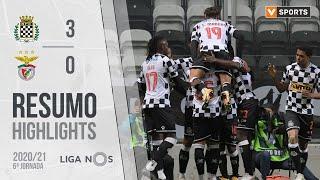 Highlights   Resumo: Boavista 3-0 Benfica (Liga 20/21 #6)