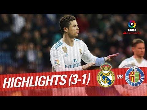 Resumen de Real Madrid vs Getafe CF (3-1)