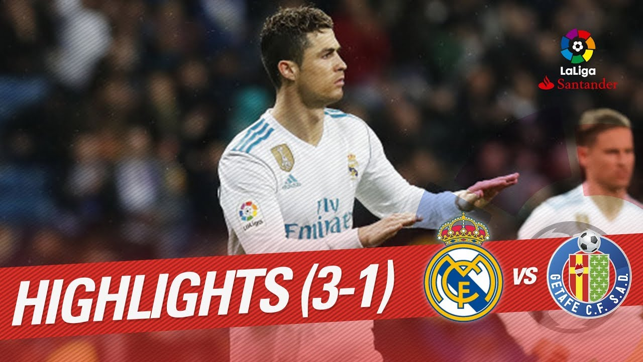 Real Madrid Vs Getafe Cf: Resumen De Real Madrid Vs Getafe CF (3-1)