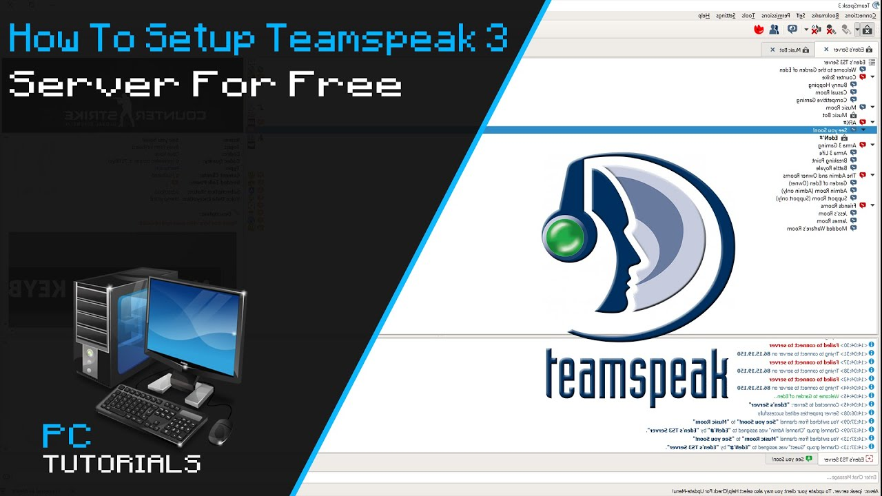 create your own teamspeak server free