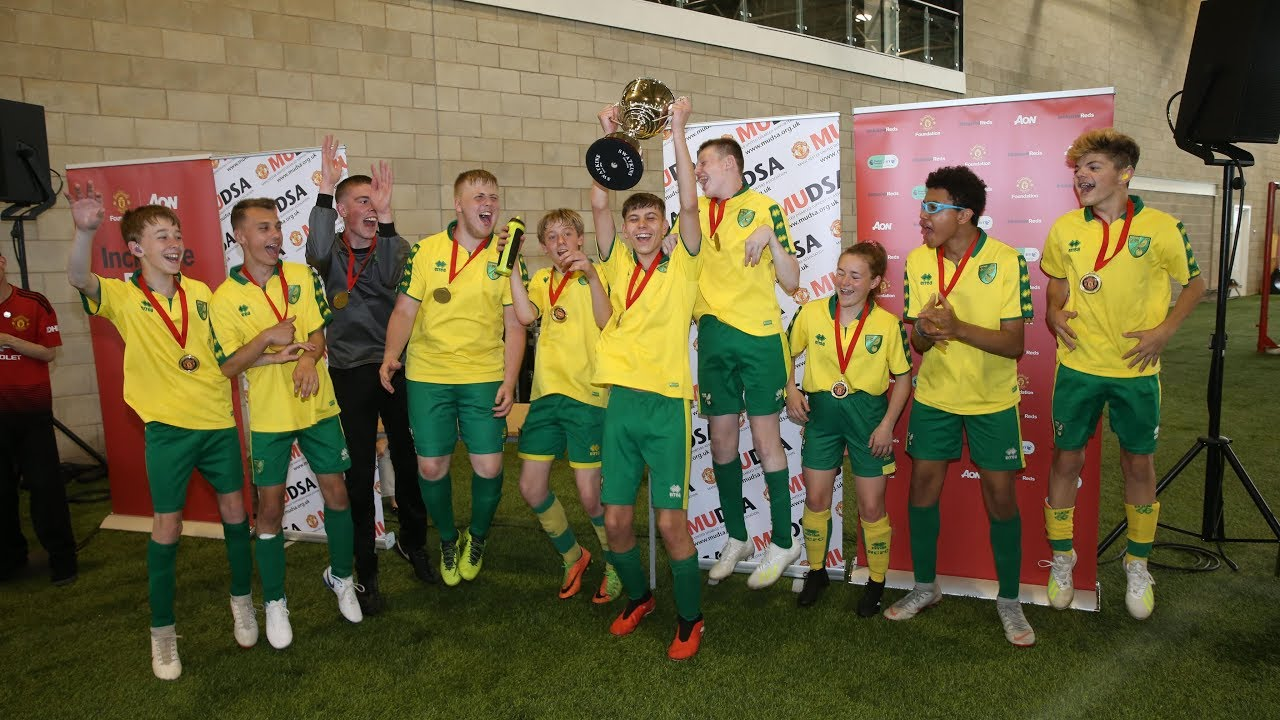 Manchester United hosts the MUDSA Cup for disability teams from across the UK
