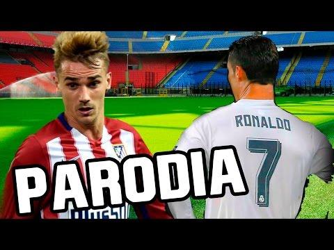 Canción Real Madrid vs Atletico Madrid 2016 (Parodia Cali Y El Dandee)