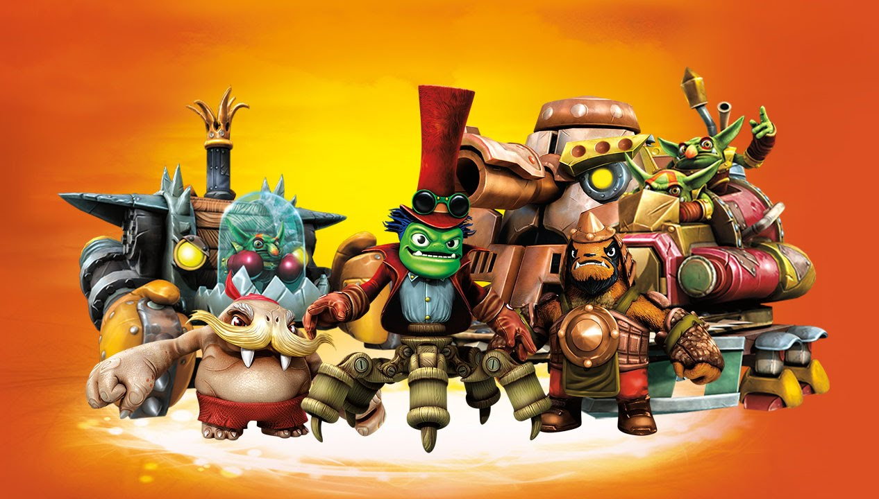 All Tech Villains Quests + Evolutions In Skylanders: Trap ...