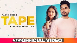 Tape (Official Video) | Rabab Inder | Latest Punjabi Songs 2019 | Speed Records