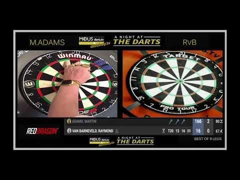 Martin Adams Vs Raymond Van Barneveld - Modus A Night At The Darts [Week 2, Night 4]