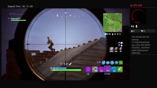 PlayStation 4 -Fortnite sniper shoot out