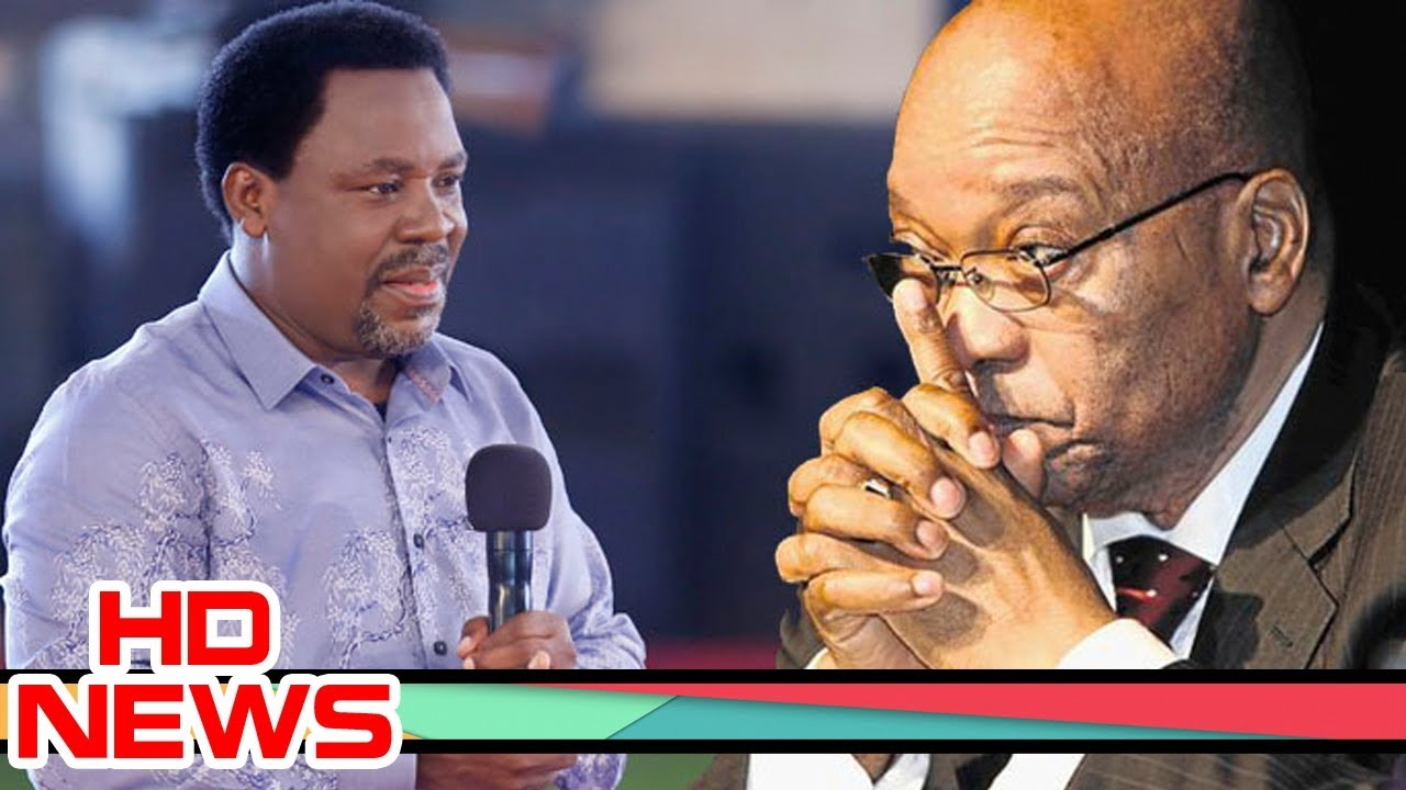 President Zuma To Die In September This Year – says Prophet TB Joshua