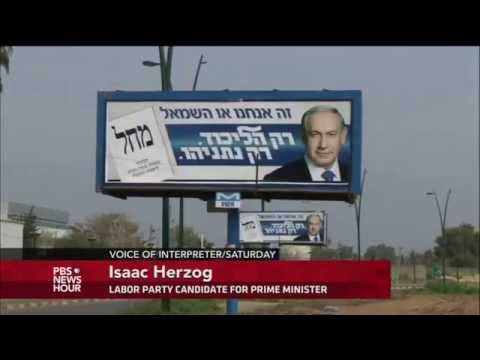 In last campaign push, Netanyahu reverses stand on Palestinian state