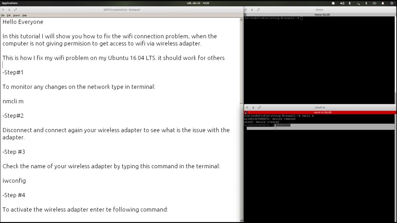 Enable Wireless Ubuntu Live Cd Wire Center Auma Sa102 Wiring Diagram How To Fix Wifi Disabled 16 04 Lts Enabling Youtube Rh Com