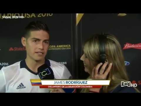 Gorgeous Colombian TV presenter accused of flirting with ace James Rodriguez – The Sun