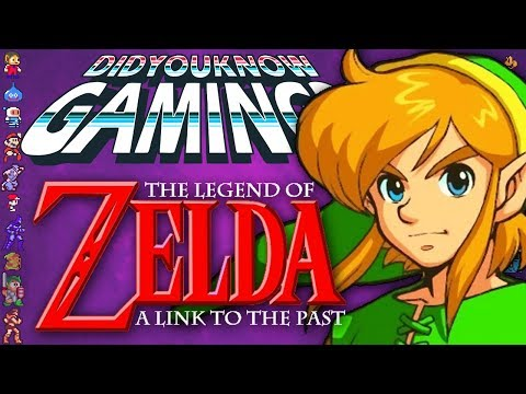Zelda A Link to the Past - Did You Know Gaming? Feat. Arlo