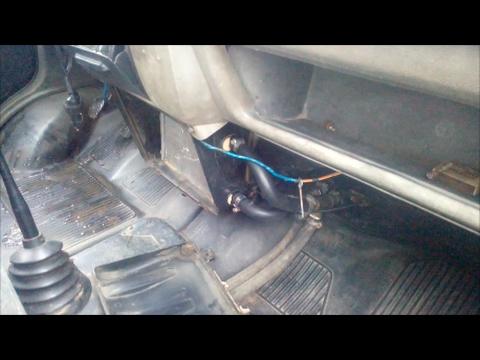 Почему в машине холодно. Решение одной из проблем.
