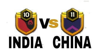 LIVE CLAN WAR INDIA VS CHINA
