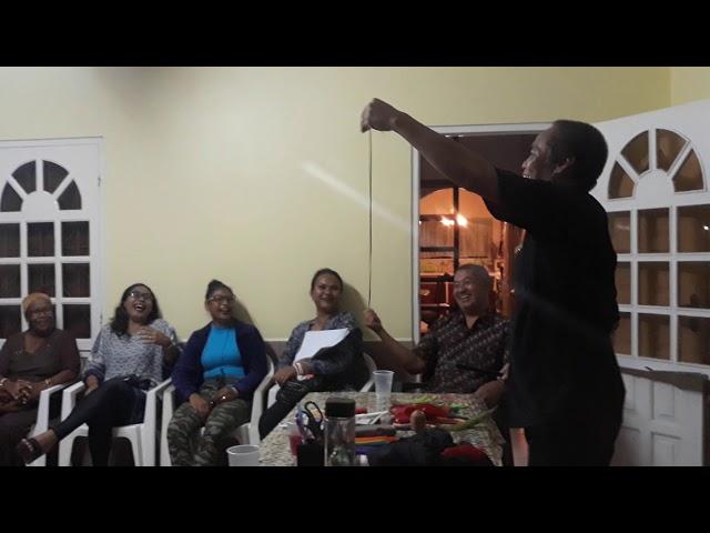 Pak Sabar Sulap, ngajari wong Suriname Ngapusi 😊😊