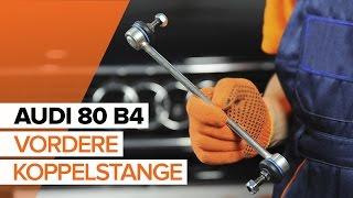 Wie AUDI 80 (8C, B4) Stabistrebe austauschen - Video-Tutorial
