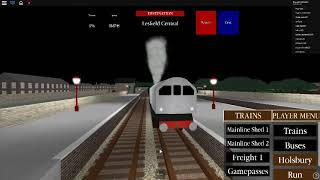 Roblox Steam Age Gameplay Mainline Shed 1- Lesfield Central