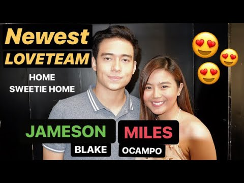 JAMESON Blake and MILES Ocampo - newest KAPAMILYA LOVETEAM