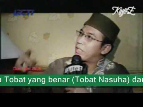 Contoh Taubat Nasuha UJE)