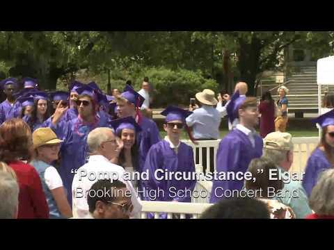 Brookline High School Graduation 2017