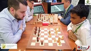 Nihal Sarin beats Ian Nepomniachtchi   World Blitz 2019