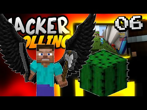 Minecraft HACKER TROLLING - FLY HACK CLIENT CAN'T SAVE HIM!! - Ep. 6 ( Minecraft 1.8 Hacks )