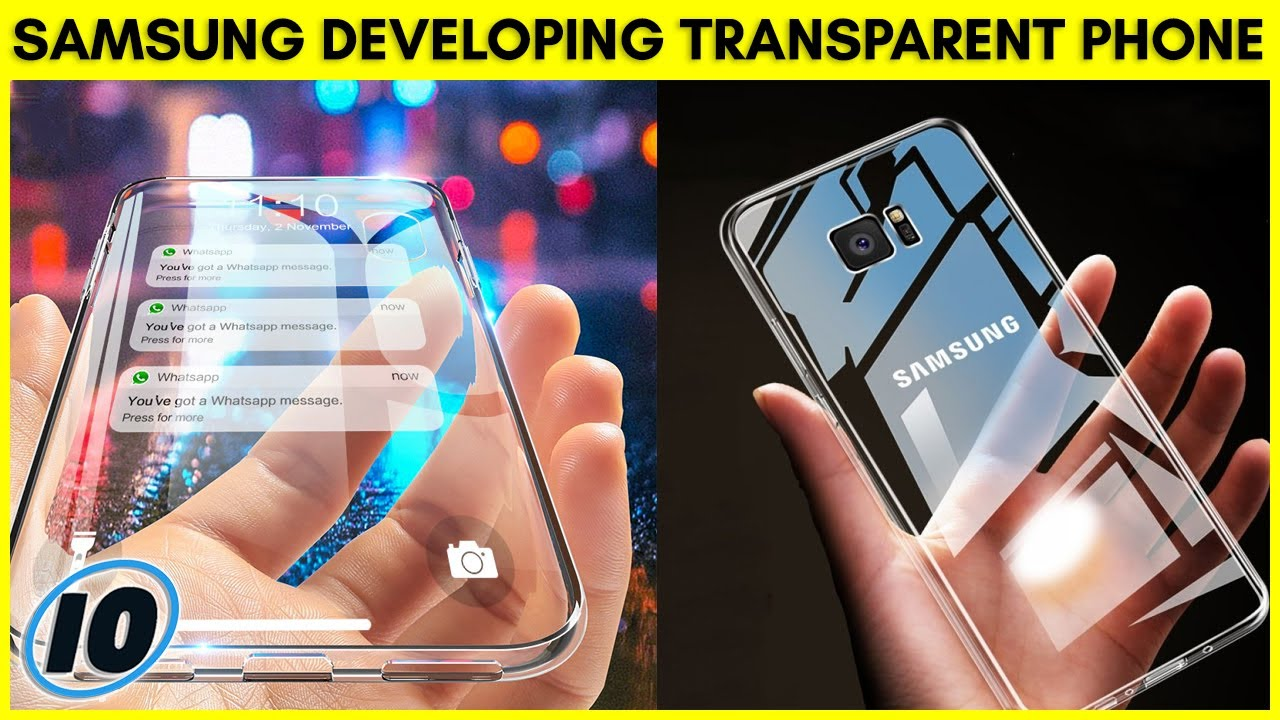 Samsung Developing Fully Transparent Phone