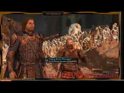 Shadow Of War - Cirith Ungol Fortress Assault W/ Greatest Follower