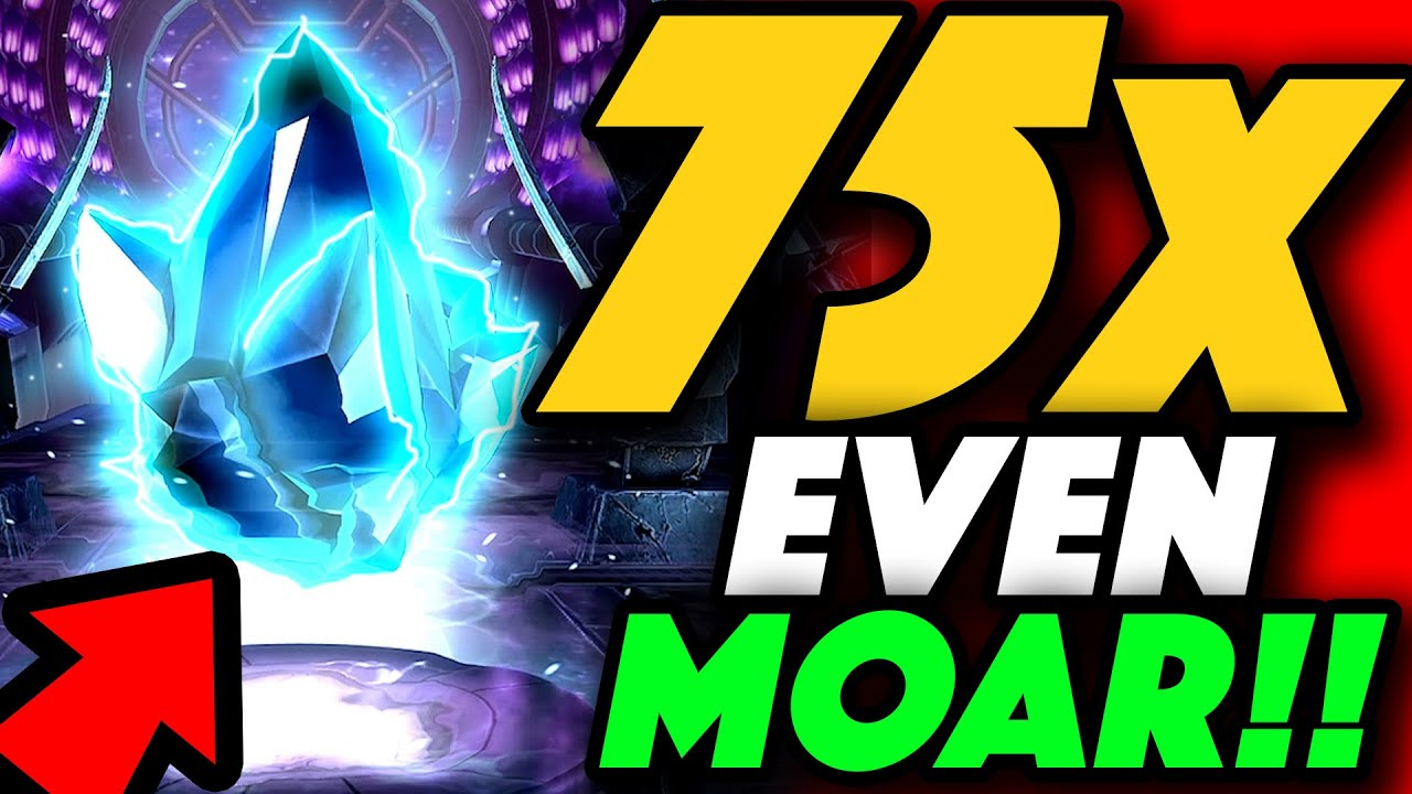HOLY SMOKES! 75x EVEN MOAR! Greater Gifting Crystal FINAL Opening!