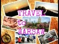 TRIP TO WARSAW- TRAVEL VLOG, FIRST TIME IN METRO WARSAW, errands, zlote tarasy mall