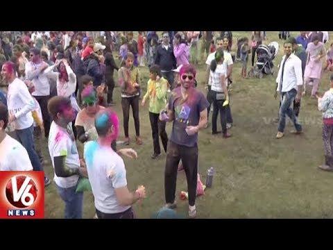 TATA Organizes Bay Area 'Yuva Holi Festival' In Fremont CA | V6 USA News