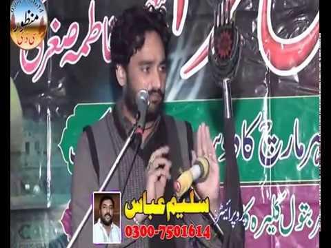 Zakir Waseem Abbas Baloch Baramdgi Taboot Ali Akbar,as  Majlis 10 Mar 2017 Qasir e Batool Kalera  Ka