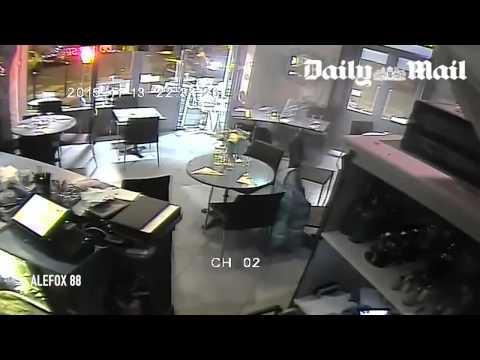 "MIRACLE Terrorist Paris ISIS Justice Woman ""GUN JAMS"""
