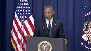 Obama Talks To Cops About Policing -Full Speech