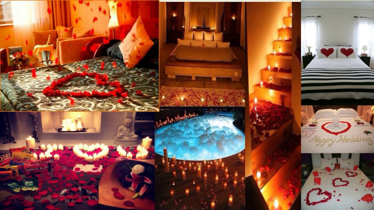 First Night Room Decoration Ideas Rom Dcoration For Wedding Youtube