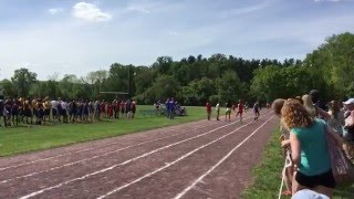 Valley Forge Relays - girls medley