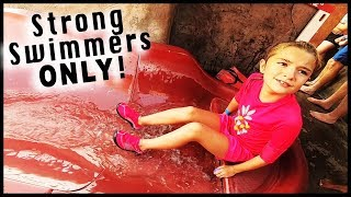 Her Biggest Water Slide Yet!!