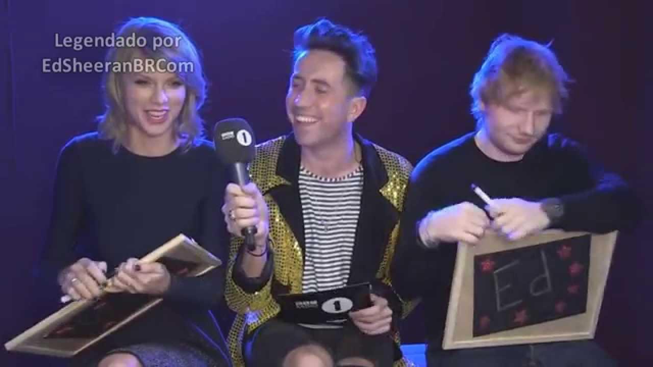 Ed Sheeran e Taylor Swift brincam de 'Eds or Taylz'? | LEGENDADO PT/BR